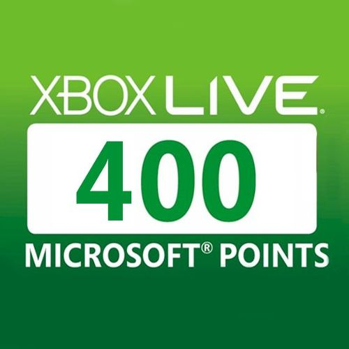 Buy 400 Points Xbox Live Code Compare Prices