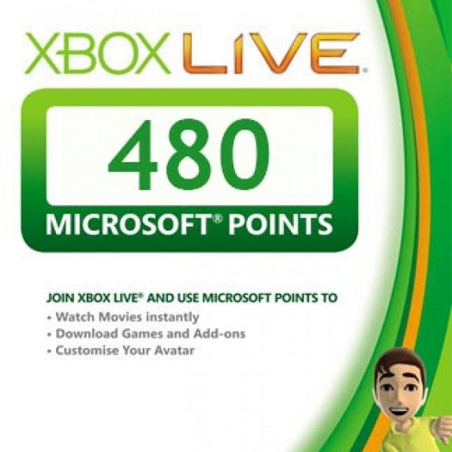 480 Points EU Xbox Live