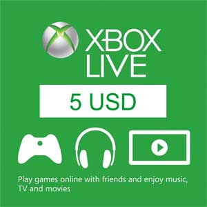 Buy 5 USD Xbox Live Code Compare Prices