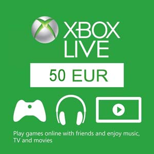 Buy 50 Euro Xbox Live Code Compare Prices