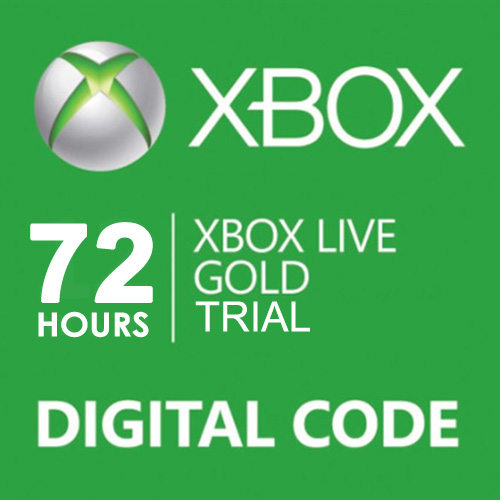 Buy 72 Hours Trial Gold Xbox Live Code Compare Prices