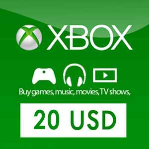 US 20 USD Xbox Live Card
