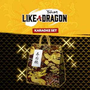 Yakuza Like a Dragon Karaoke Set