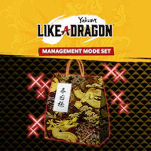 Yakuza Like a Dragon Management Mode Set