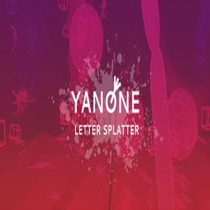 Yanone Letter Splatter