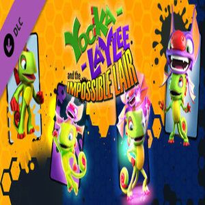 Yooka-Laylee and the Impossible Lair Trowzers Top Tonic Pack