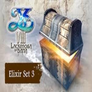 Ys 8 Lacrimosa of DANA Elixir Set 3