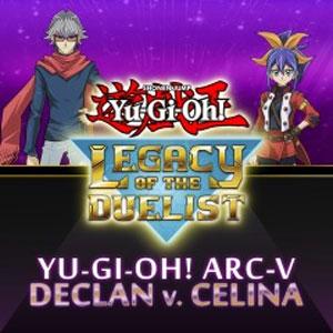 Yu-Gi-Oh ARC-V Declan vs Celina