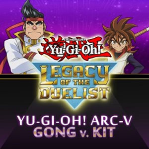 Yu-Gi-Oh ARC-V Gong v. Kit