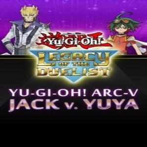Yu-Gi-Oh ARC-V Jack Atlas vs Yuya