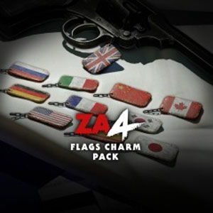 Zombie Army 4 Flags Charm Pack