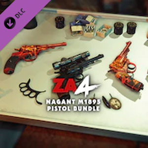 Zombie Army 4 Nagant M1895 Pistol Bundle