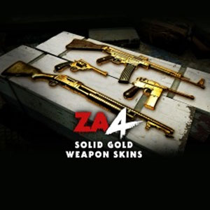 Zombie Army 4 Solid Gold Weapon Skins