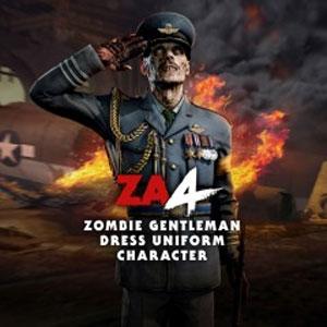 Zombie Army 4 Zombie Gentleman Dress Uniform Character