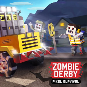 Zombie Derby Pixel Survival
