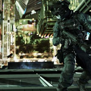 Call of Duty Ghosts PS4 Cliff Hanger