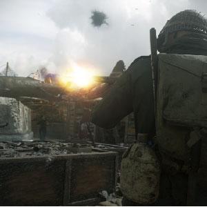 Classic Call of Duty combat