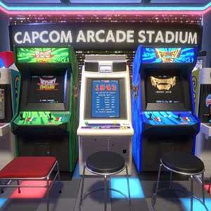 Capcom Arcade Stadium Packs 1, 2, and 3 Virtual Arcade