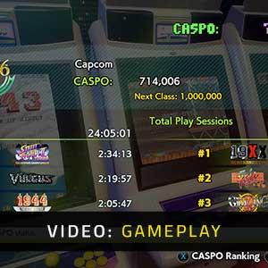Capcom Arcade Stadium Gameplay Video