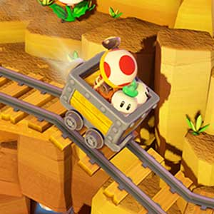 Captain Toad Treasure Tracker Nintendo Wii U Railroad