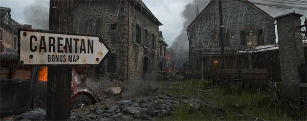 Call of Duty WW2 Carentan Map