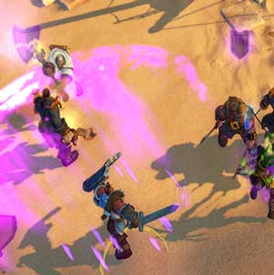 Anteria Fighting at the Desert Pirates