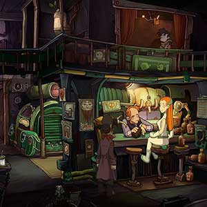 Chaos on Deponia - Xray