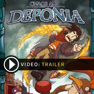 Buy Chaos on Deponia CD Key Compare Prices