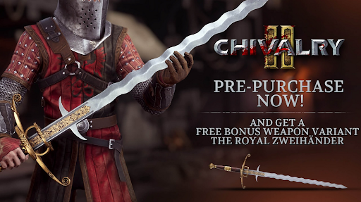 Chivalry 2 pre-order bonus