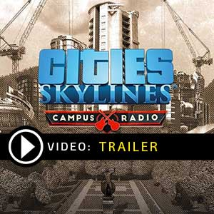 Buy Cities Skylines Campus Radio CD Key Compare Prices