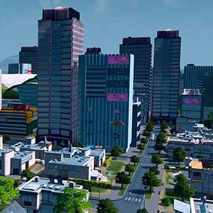 Main economy city