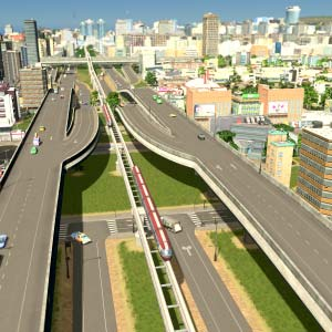 Cities Skylines Mass Transit Connecting Cities