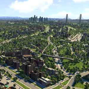 Cities XXL: Vue sur la Ville