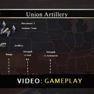 Civil War 1865 Gameplay Video