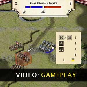 Civil War Gettysburg Gameplay Video