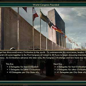 Civilization V Brave New World - World Congress