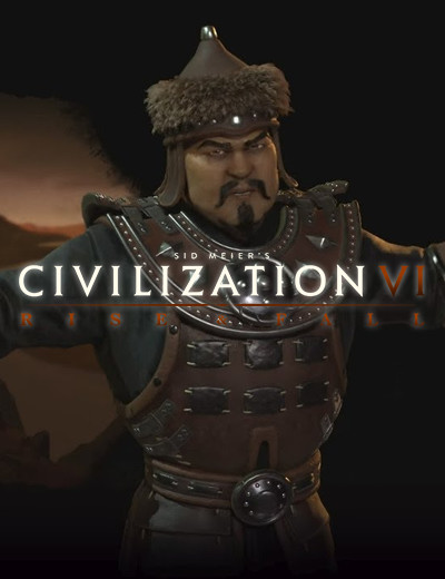 Civilization 6 Rise and Fall will See the Return of Gengis Khan and the Mongolians