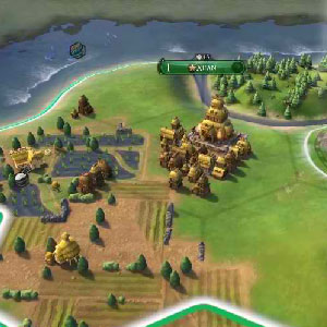 Civilization Unstacking Cities