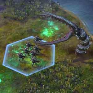 Battle with Alien Inhabitants