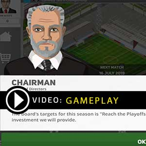 Club Soccer Director PRO 2020 Gameplay Video