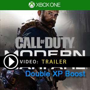 COD Modern Warfare Double XP Boost