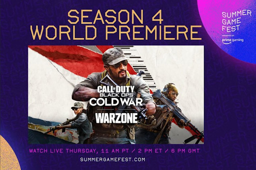 Call of Duty: Black Ops Cold War and Warzone Season 4