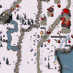 Command & Conquer Remastered Collection Tank Attack