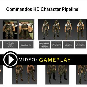 Commandos 2 HD Remaster Gameplay Video