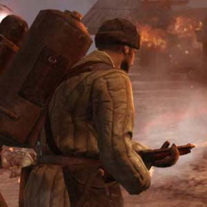 Company of Heroes 2 - Flamethrower