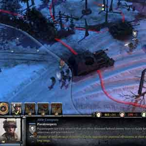 Company of Heroes 2 Ardennes Assault: Deploy Paratroopers