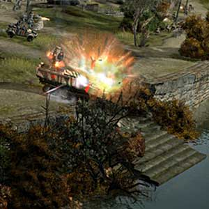 Company of Heroes 2 The British Forces - Explosion