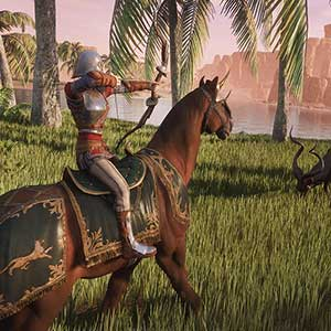 distance with mounted archery