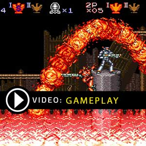 Contra Anniversary Collection Gameplay Video