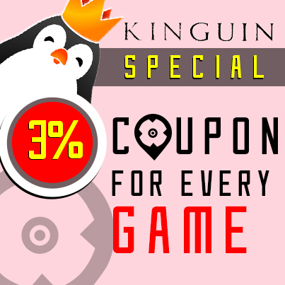Kinguin 3% Coupon Special!